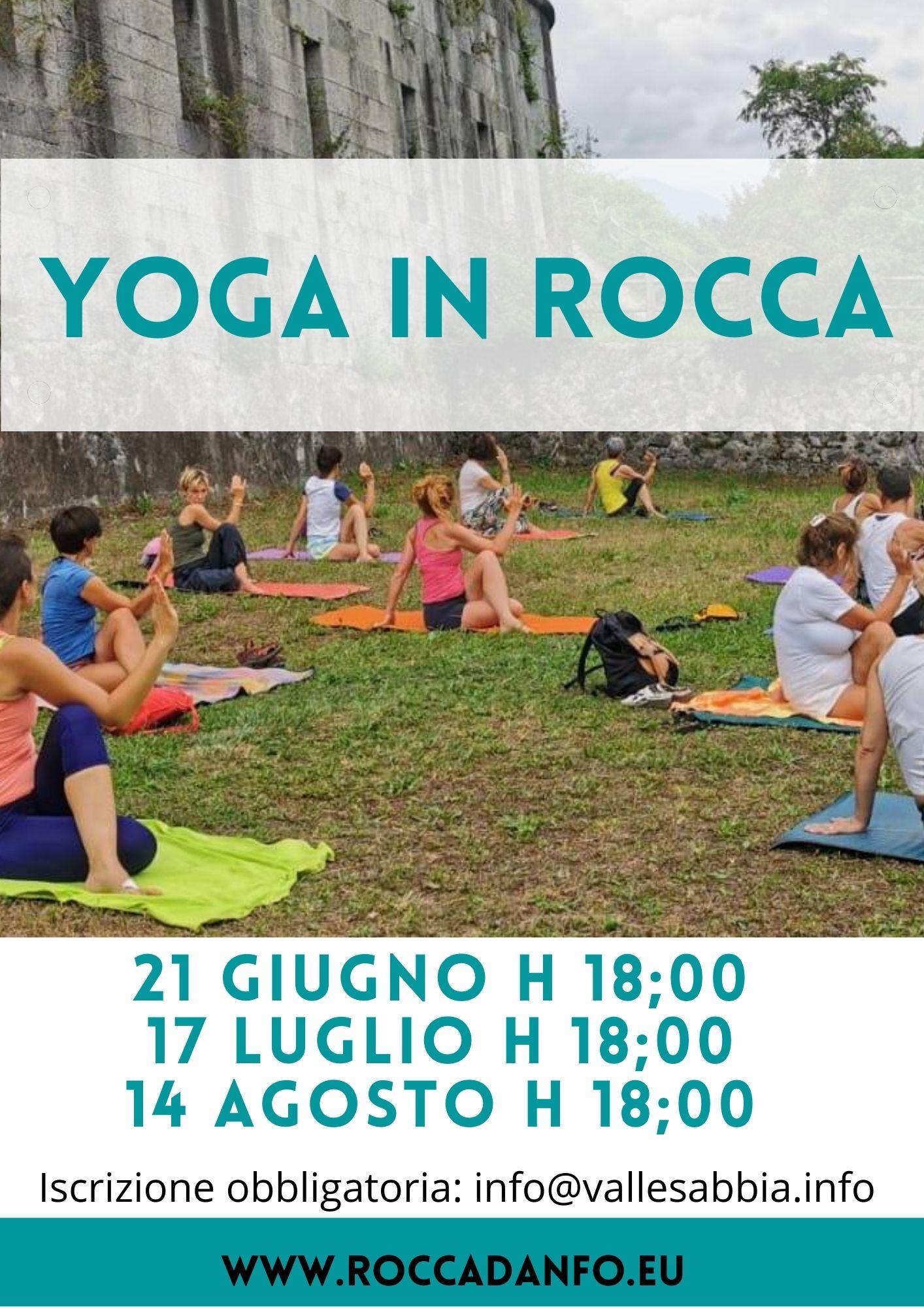 yoga in rocca