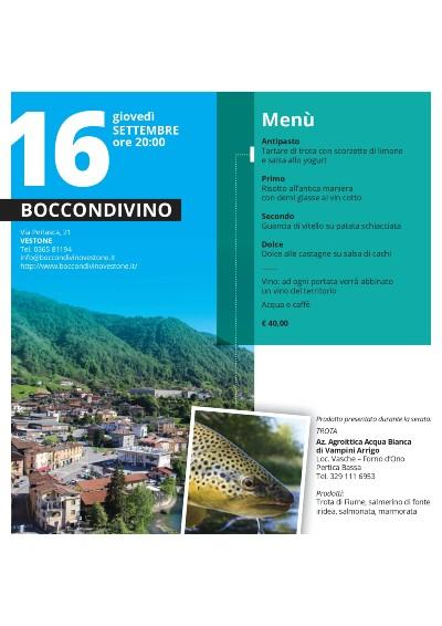 cena BocconDivino