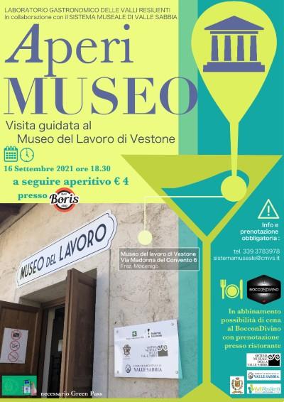 aperitivo al museo